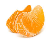 Illustration of tangerine slices — Stock Vector