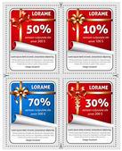 Sale stickers — Stock Vector