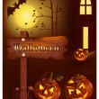 Stock Vector: Halloween vector illustration