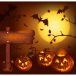 Halloween vector illustration — Stock Vector #33695605