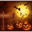 Halloween vector illustration — Stock Vector #33695607