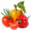 Vegetables — Vector de stock #33695705