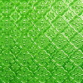 Green of Stained glass — Stock Photo