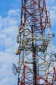 Коммуникационная антенна — Стоковое фото