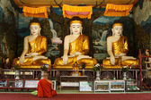 Buddhist monk — Stockfoto