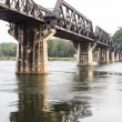Bridge over river kwai — Stock Photo