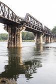 Puente sobre el río kwai — Foto de Stock