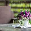 Flower on table — Stock Photo