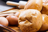 Variété de pain — Photo