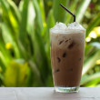 Iced coffee with milk — Stock Photo #28230777