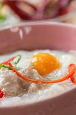 Rice gruel — Stock Photo