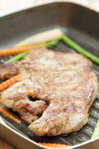Steak with Vegetable — Stockfoto