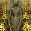 Stock Photo: Sitting buddhstatue