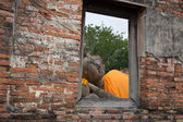 Reclining of buddha — Foto Stock