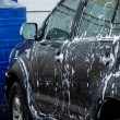 Cars in a carwash — Stockfoto