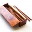 Box of chopsticks — Stock Photo