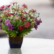Beautiful plastic flowers — Stock Photo #28938345