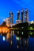 Building city, — Stock Photo