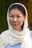 Portrait de femme fashion style asiatique — Photo