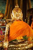 Buddha in temple — Foto de Stock