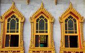 Finestra del tempio — Foto Stock