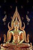 The Peaceful Buddha Image Bangkok , Thailand — Stock Photo