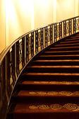 Otel merdiven. — Stok fotoğraf