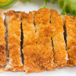 Japanese fried pork — Stock Photo
