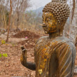 Ancient Buddha in Thailand. — Stock Photo