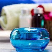 Aromatherapy candles — Stock Photo