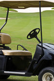 Golf car — Stockfoto