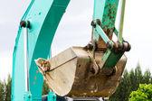 Land excavators — Stock Photo