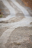 Piaszczysta lane — Zdjęcie stockowe