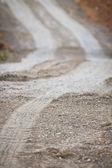 Sandy lane — Stockfoto