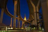Bhumibol Bridge of Thailand — Stock Photo