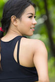 A portrait of attractive asian woman — Stock Photo