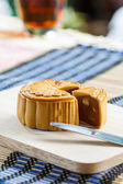 Chinese moon cake — Stockfoto