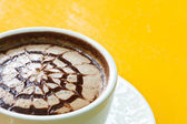 Cappuccino koffie — Stockfoto
