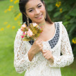 Portrait beautiful Asian Girl — Stock Photo #31265771