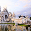 Wat Rong Khun,Chiangrai, Thailand — Stock Photo
