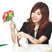Beautiful young asian — Stock Photo