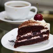 Kahve kek — Stok fotoğraf