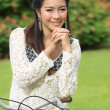 Portrait beautiful Asian Girl — Stock Photo #32422259