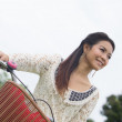Portrait beautiful Asian Girl — Stock Photo #32425271