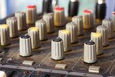 Panel de sonido antiguo — Foto de Stock