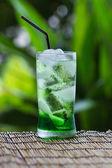 Zielony sok — Zdjęcie stockowe