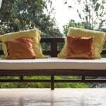 Wooden sofa — Stock Photo #33472757