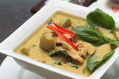 Green Curry Chicken — Stock Photo