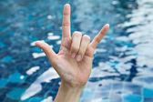 Symbol of the hand — Stock Photo