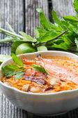 Thailand food Tom Yum Goong — Stock Photo